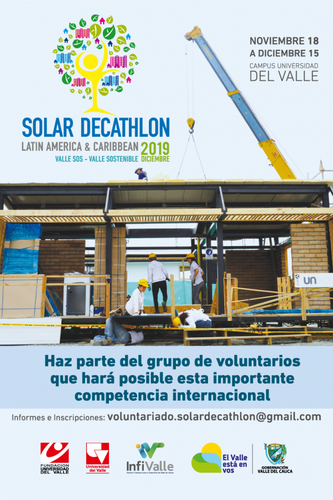 Convocatoria de voluntarios para Solar Decathlon 2019.